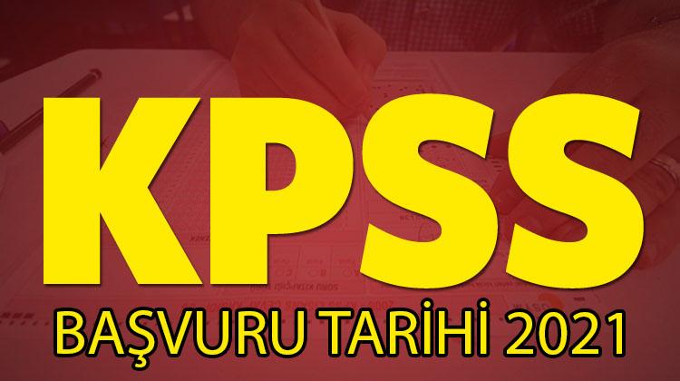 kpss başvuru tarihi 2021
